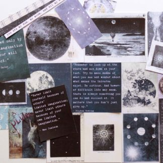 celestial grunge journal printables