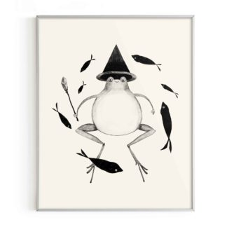 Toad Witch Print Sweet Omens
