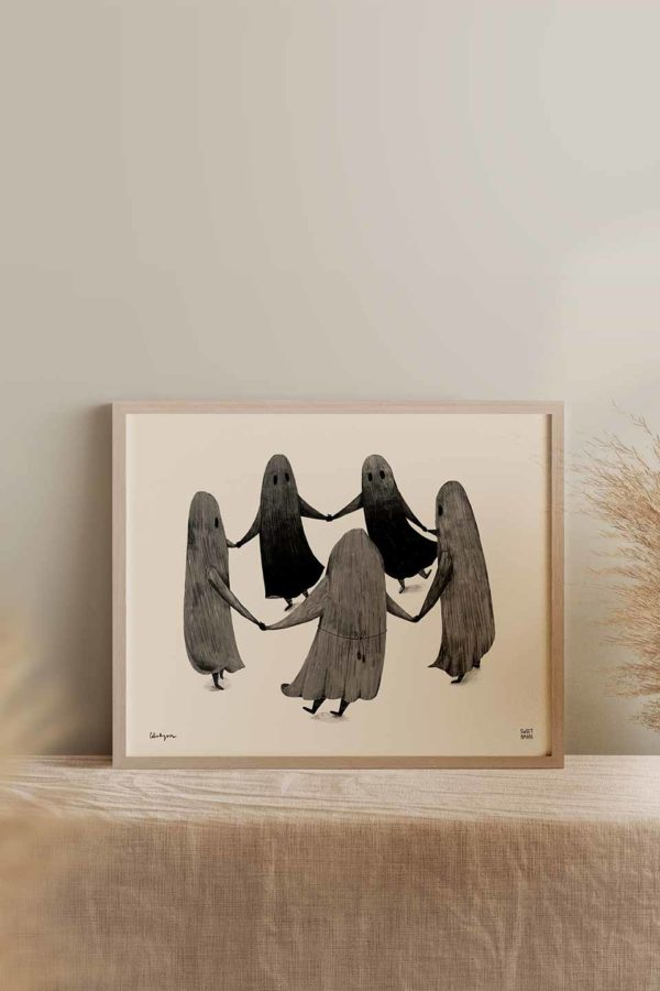 Witch Coven Art Print