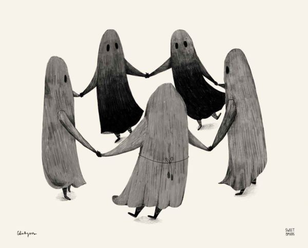 Witches Coven Art Print