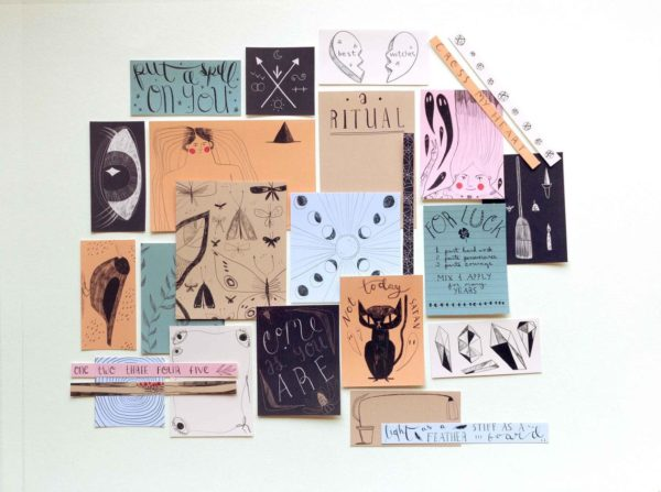 Witches Printable Scrapbook Kit